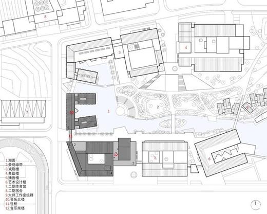 安徽艺术学院音乐楼,同济大学建筑设计