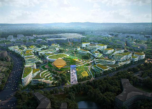 OMA中标成都未来科技城城市设计及建筑设计