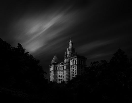 静匿黑白建筑摄影-Dennis Ramos