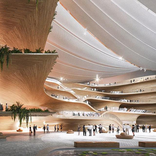 """""""海洋韵律""""——深圳歌剧院建筑设计竞赛二等奖方案"""