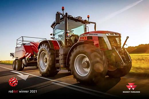 麦赛福格森MF 8S系列拖拉机荣获2021产品设计奖