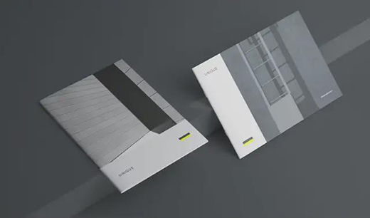 企业画册设计的风格定位!