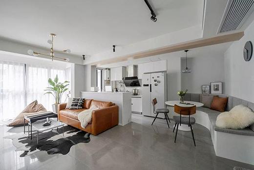 4种家装餐厅卡座设计,提高空间利用率