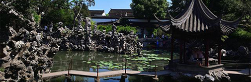 现dai园林景观设ji手法:与建筑设ji相结合