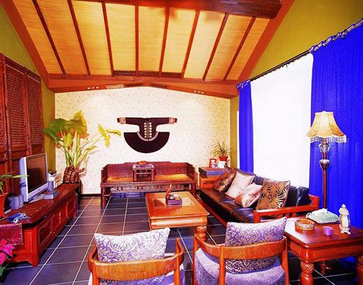 清新东南亚风格装修 美丽迷人的住宅