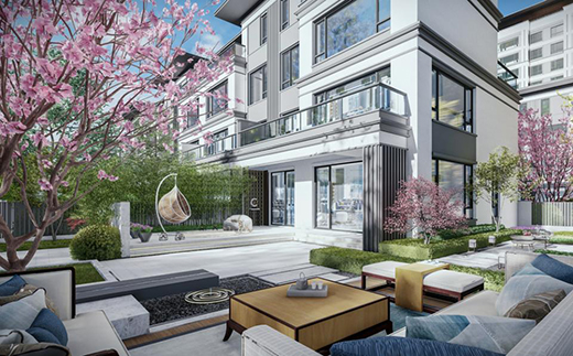 为美好而来,用轻奢空间设计创建文安孔雀城御湖上院