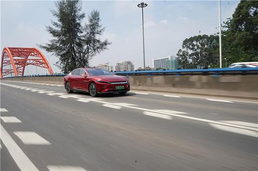 深度试驾比亚迪汉EV:不愧是自主品牌卖得最好的中大型电动车